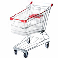 Asia Style Shopping Trolley carts