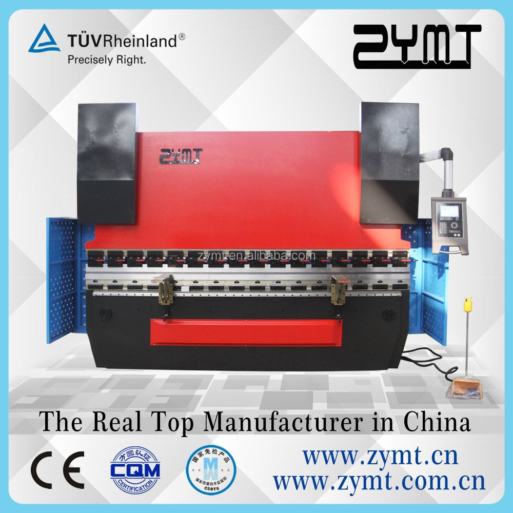 ZYMT 80ton/3200 DELEM DA-52S Controller Hydraulic CNC Servo Press Brake for CE Safety Standards