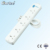 Professional factory supply ABS or PC or PP plastic multiple sockets power strip