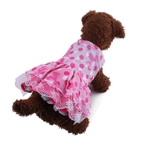 pet clothes Dream princess veil dress for dog coat