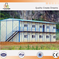 Two storey famous steel structure residential building in Nepal