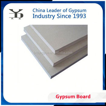 12.7mm gypsum board for industry