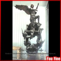 Bronze Large Outdoor Angel Statues Decor