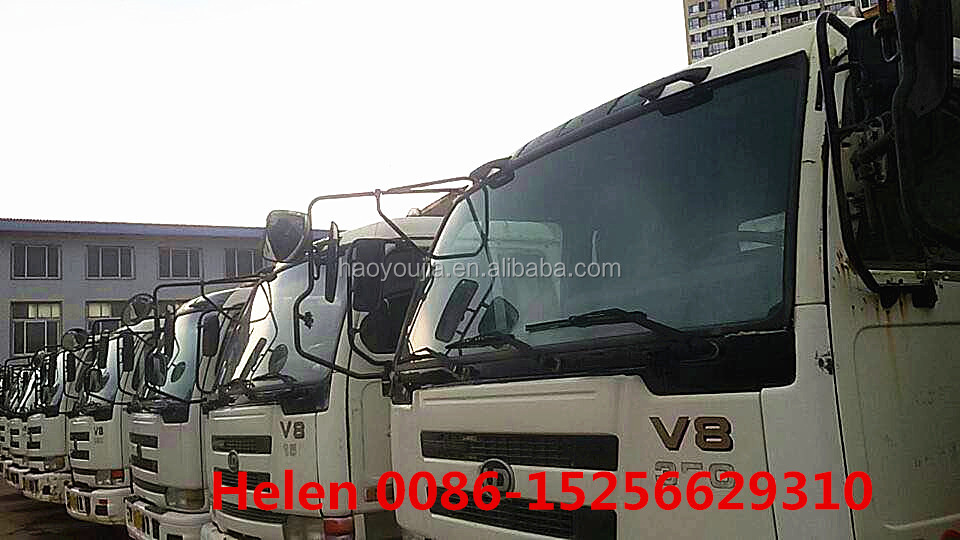 international 25tons 6*4 10 wheel Nissan tipple trucks for hot sale