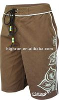 Men's Coffee Beach and Board Shorts