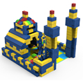 Sibo Rental Business Castle Building Blocks For Theme Party