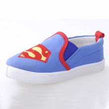 cartoon characters kids canvas shoe for children