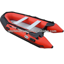 2015 CE good quality PVC inflatable fishing boat