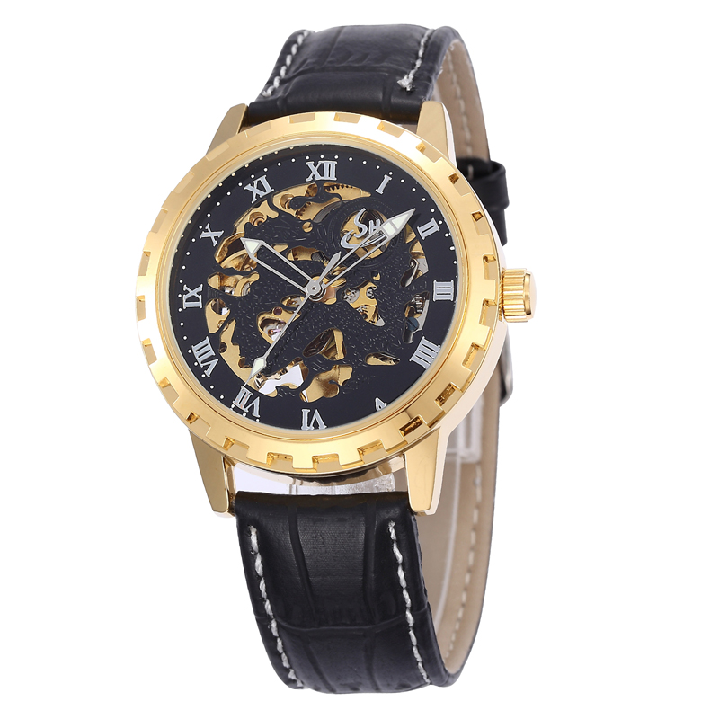 Watch Free Shipping 3 Atm Water Resistant Stainless Steel Man Watch Back