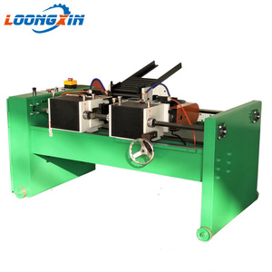 Flange thread rod facing machine