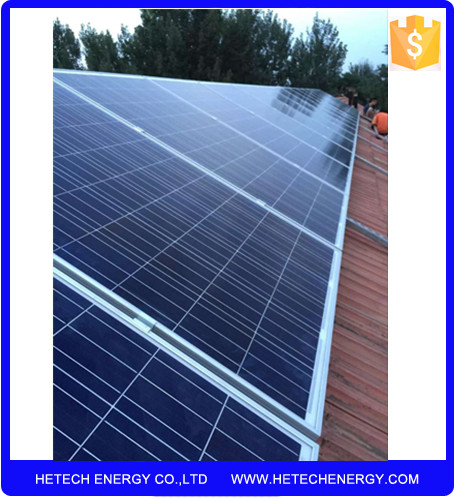 High output grid tie 2000 watts photovoltaic solar electricity generating system for home