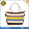 OEM customized new design vintage ladies travel canvas tote bag
