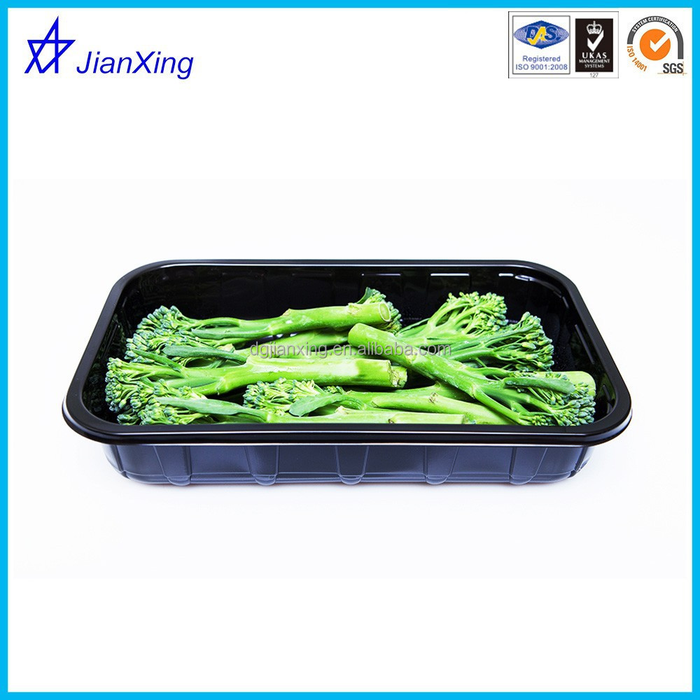 Fruits and vegetables packaging tray