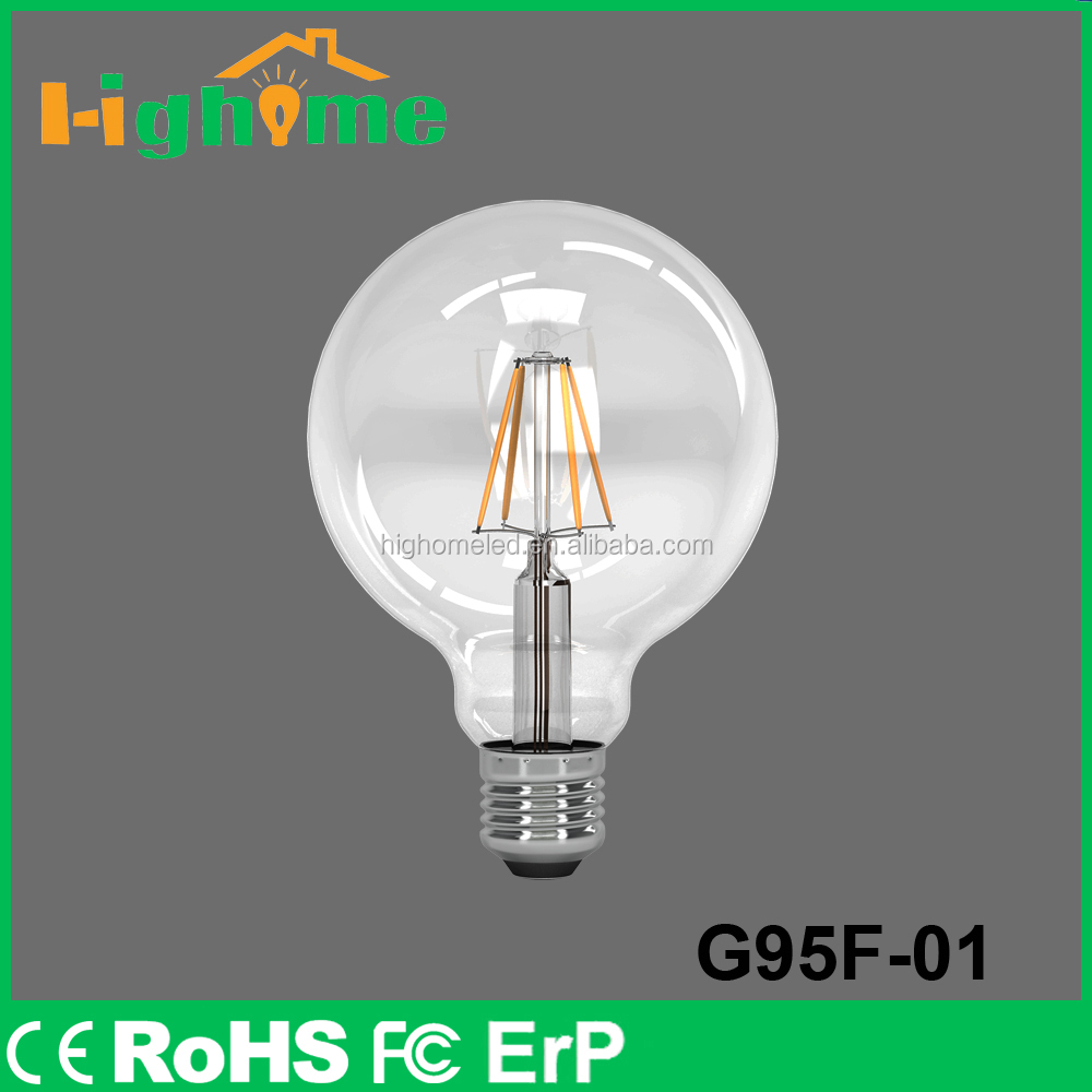 LED Edison Bulb Golden led supplier filament E26/E27 360 Degree 2w/4w/6w/8w