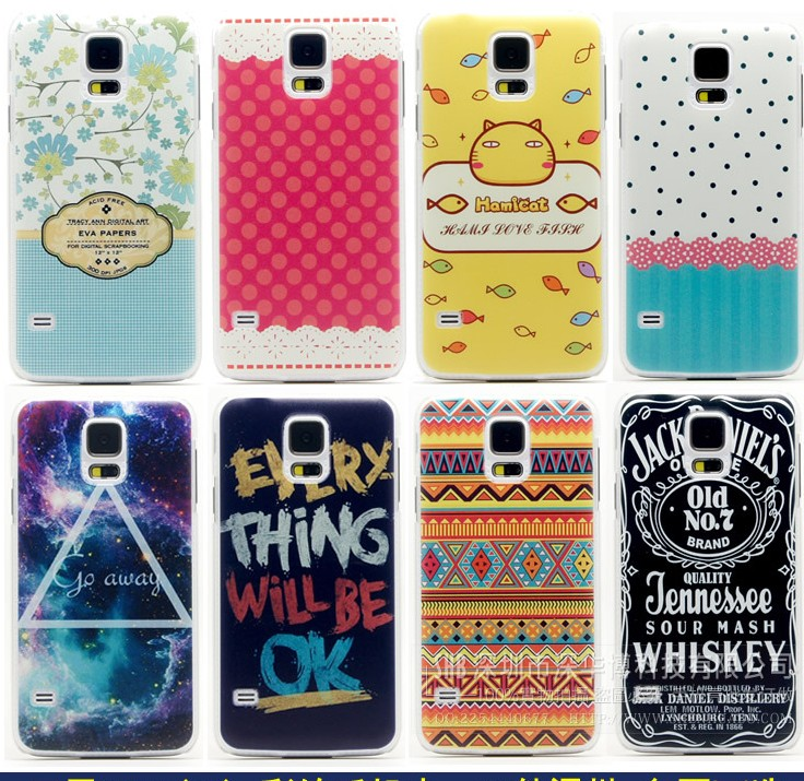 2014 newest 3D sublimation customized printing case cover for iPhone 5 5s 4 4s samsung s4 s5 note 3 2 hard case SK017