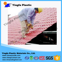 Hot sale ASA layer synthetic resin roofing tile for villa project