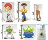 Small Plastic Action Figurine Craft