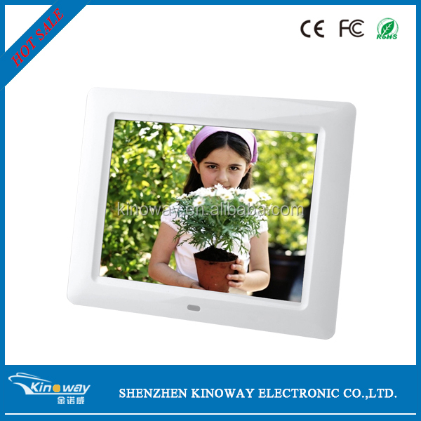 "KINOWAY hot sale 7"" inch mp3/mp4/advertising screen/ bulk digital photo frame"