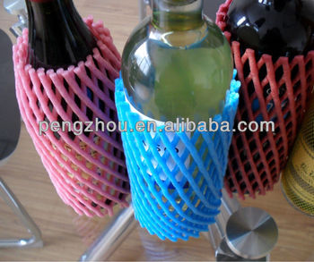 Knitted Tubular Net For Bottles
