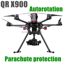 New professional QR X900 aerial aircraft GPS FPV autorotation parachute protection RC quadcopter remote control helicopter