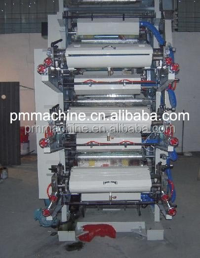 Full Automatic More precise Color Register Printing Machine