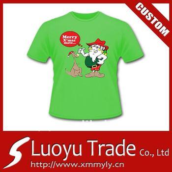Christmas gift custom t shirt silk screen printing for for Custom silk screen shirts