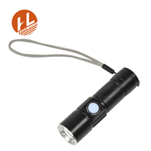 5Wcree mini zoomable tactical portable usb rechargeable led zoom flashlight