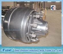 T/T American type 16T heavy duty trailer axles for repair station