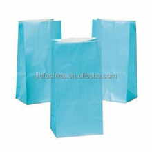 2015 Hot-selling Light Blue Paper Party Bag