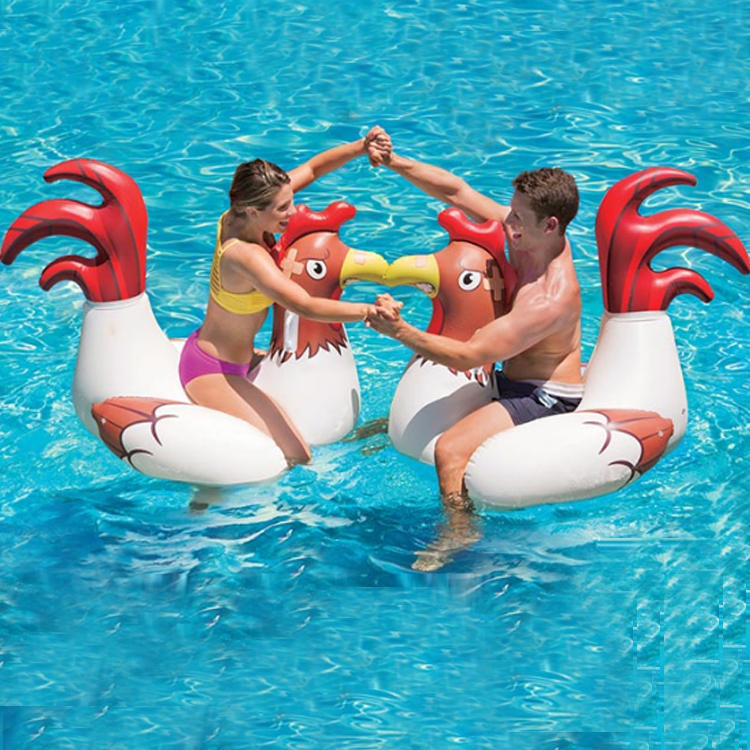 Adult toys summer beach custom various plastic PVC kinds water swimming giant inflatable pool float