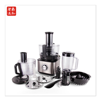 12in1 easy operate salad maker vegetable kitchen food processor Electric Garlic peeler chopper grind home