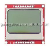 "High Quality 1.6"" inch Nokia 5110 LCD Module Red Backlight (84*48 resolution)"