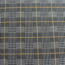 shaoxing manufacturer Square checked design polyester rayon spandex plaid jacquard knitted fabric for men suit
