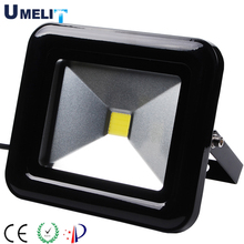 IP65 waterproof outdoor Stadium garden high quality led flood lights COB chip black white color