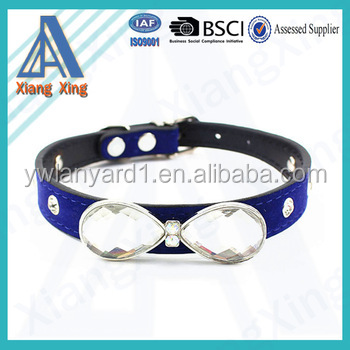 Hot selling 2016 new design various style fake diamond dog collar