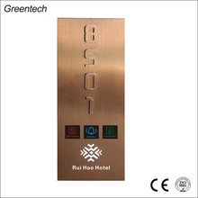 Newest Door Name Plate Hotel Touch Door Plate