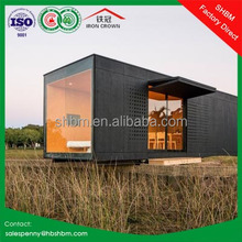20ft 40ft foldable modern luxury containers hotel home villa expandable prefab container house