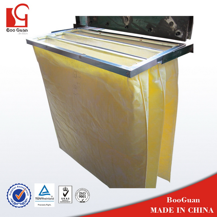 Best quality manufacture filter media non-woven pocket filter