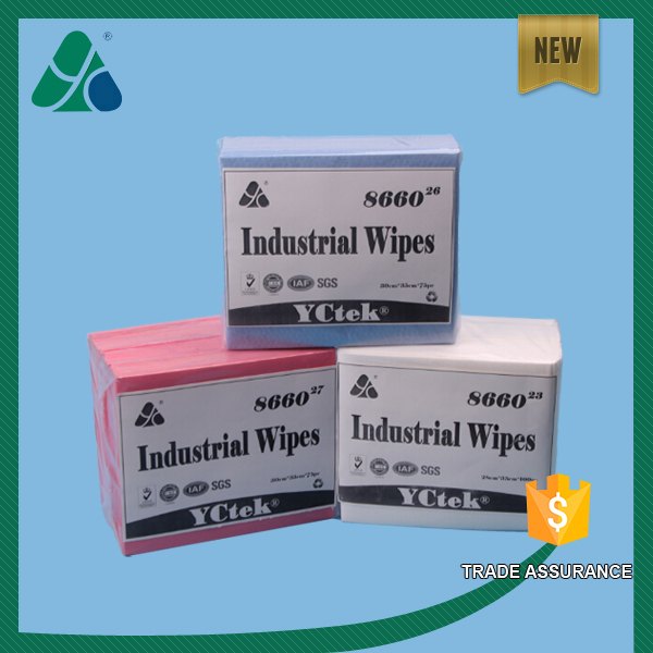 Super Absorbent Multi-purpose Nonwoven Fabric Cleaning Wipes