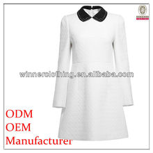 autumn wear long sleeve conservative birthday dresses for adults