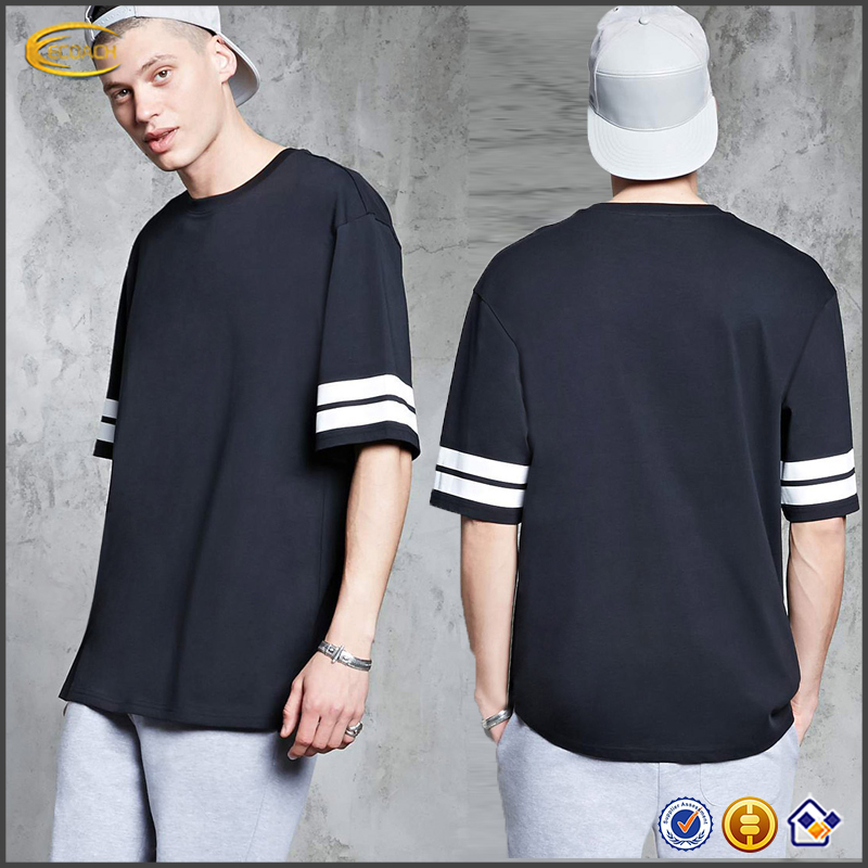 Ecoach t shirt design 95%cotton 5%elastane hip hop round neck men's printed custom t shirt