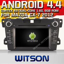 WITSON Android 4.4 SPEICAL CAR KIT FOR MAZDA CX-7 2010-2012 1.6GHZ Frequency HD 3G Wifi Multi-touch 3D UI