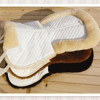 Chinese Wholesale Sheepskin Horse Saddle Pad