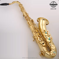 Names of musical instruments tenor saxophone with good sound