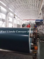 I-Shape, Lattice Pattern PVC Belt Conveyor Price