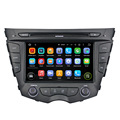 Support original car rear camera and amplifier and USB android 7.1.2 car stereo system for Veloster 2011-2013