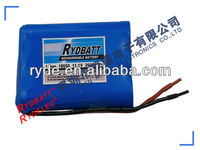 Durable and reliable 11.1v li-ion battery pack with PCB