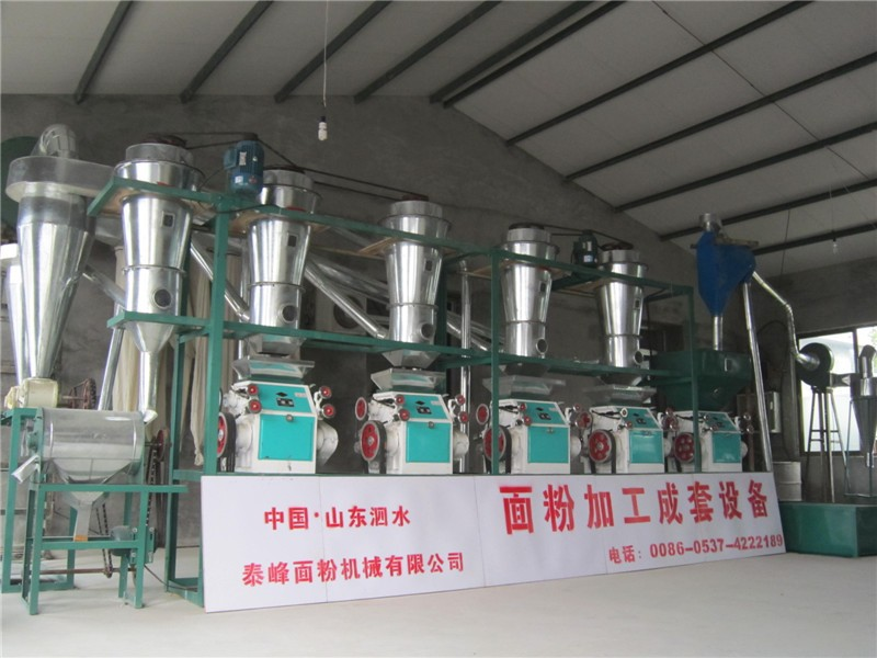 2015 hot sale high quality low price domestic Wheat flour mill machinery