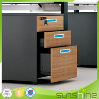 Sunshine Office Furniture 3 Drawer Mobile Pedestal Cabinet XFS-408