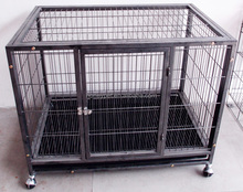 Midwest Life Stages Black Wire Double Door Dog Crate / Cage